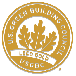 Leed Gold Certification badge